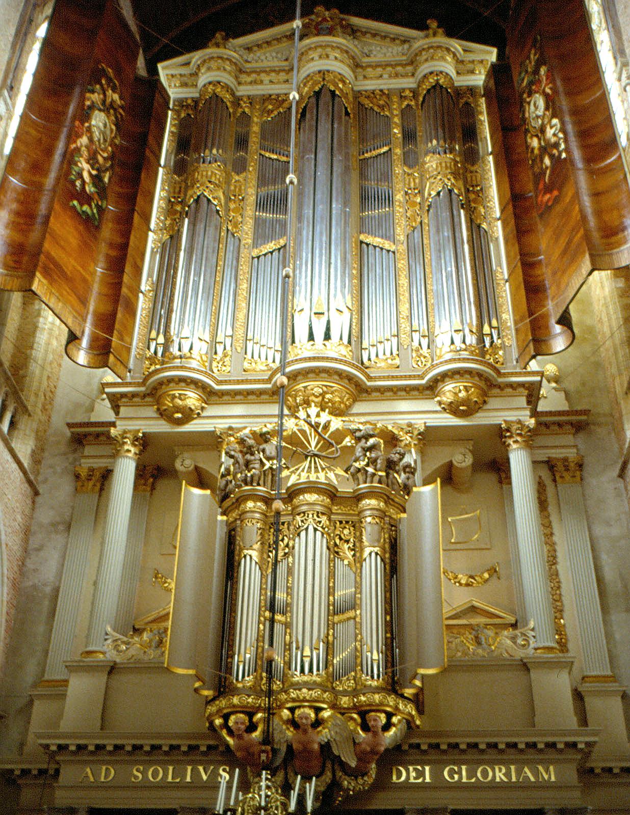 Het Hagerbeer orgel van de Grote Kerk in Alkmaar